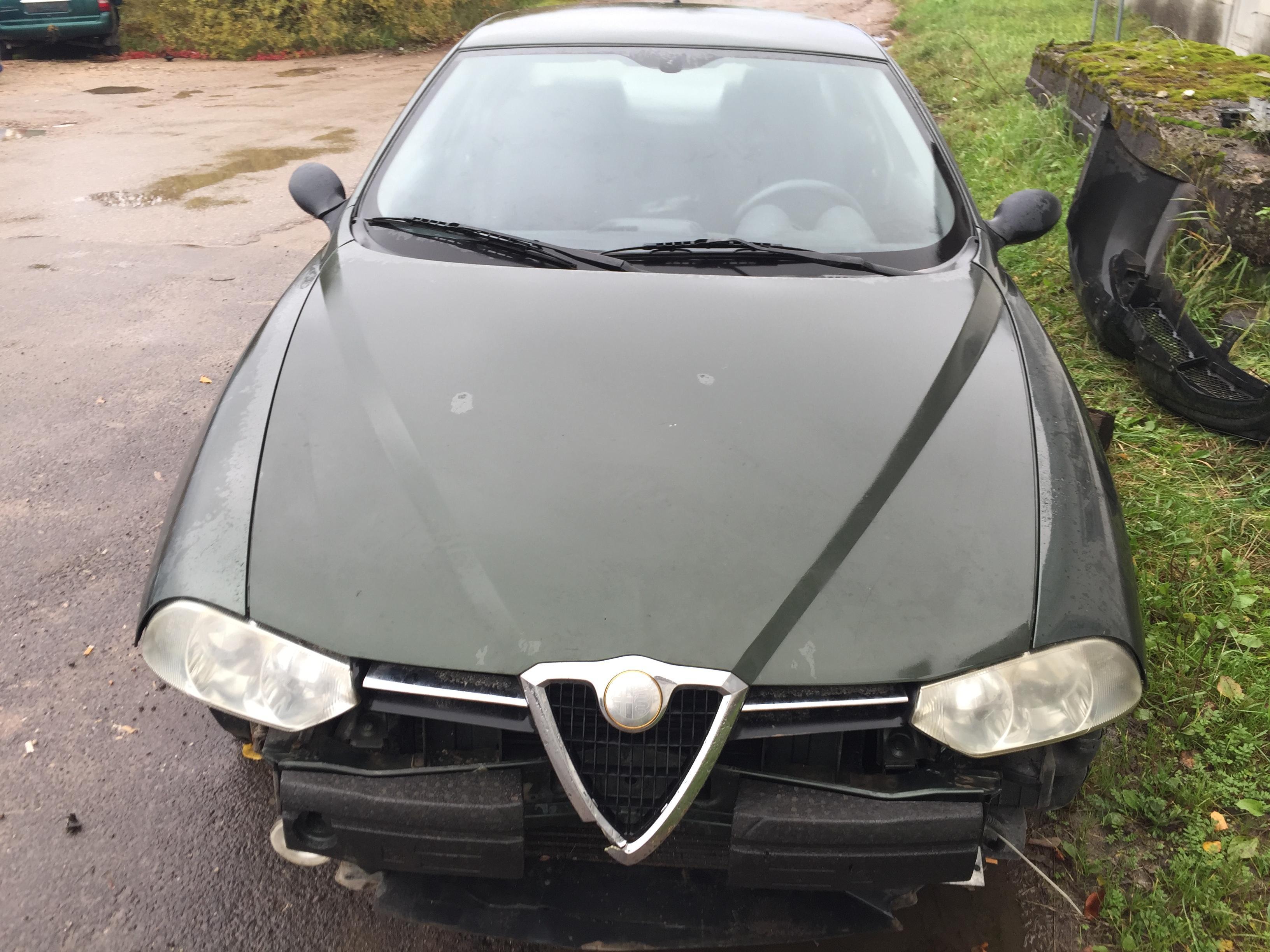 Naudotos automobiliu dallys Foto 2 Alfa-Romeo 156 1997 1.8 Mechaninė Sedanas 4/5 d. Zalia 2017-10-04 A3478