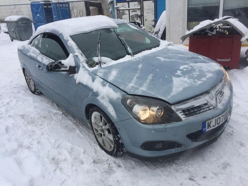 Naudotos automobiliu dallys Foto 3 Opel ASTRA 2007 1.8 Mechaninė Kabrioletas 2/3 d. Melyna 2019-1-28 A4277