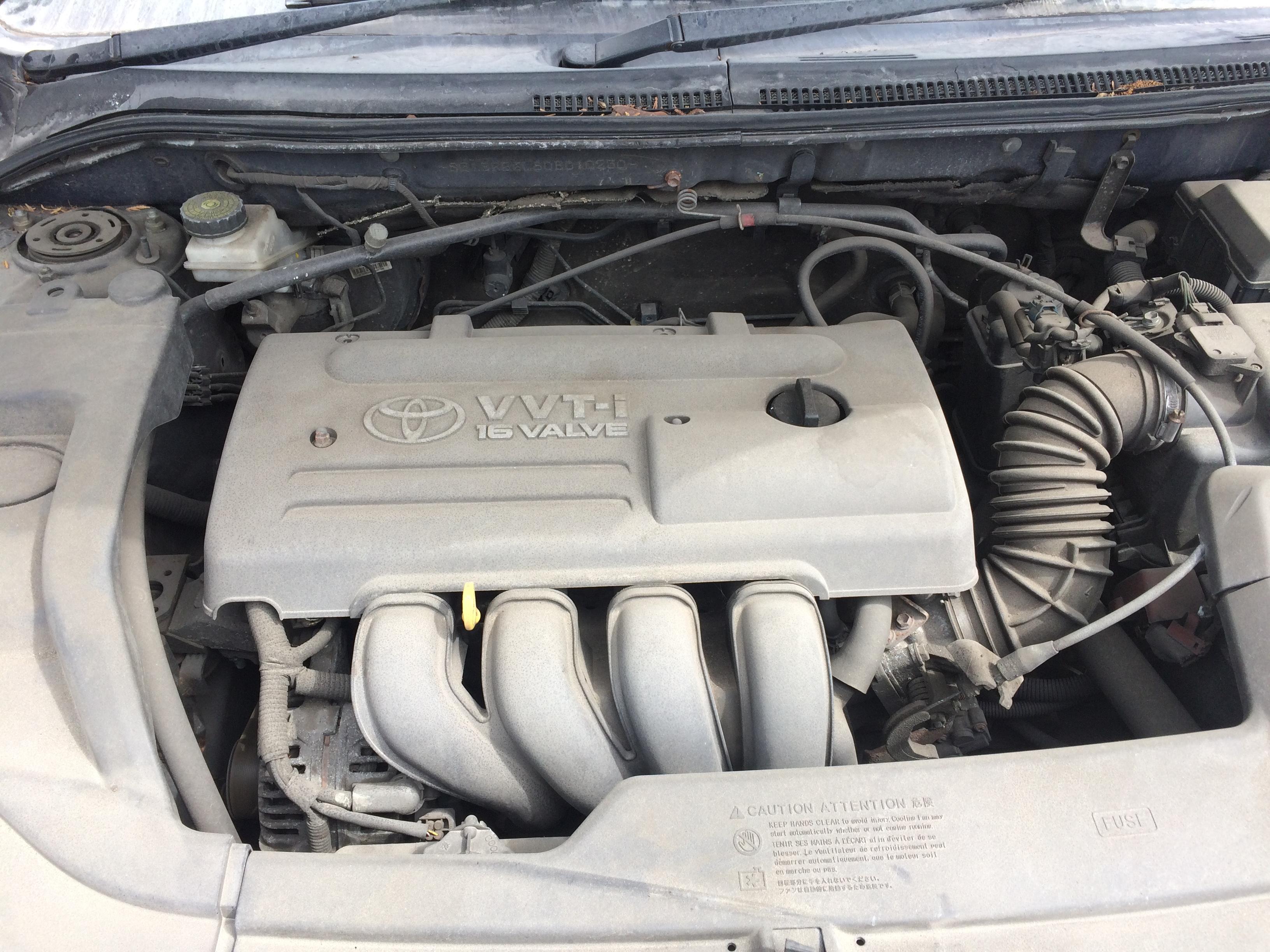 Подержанные Автозапчасти Foto 8 Toyota AVENSIS 2003 1.8 машиностроение универсал 4/5 d. синий 2018-7-11 A3931