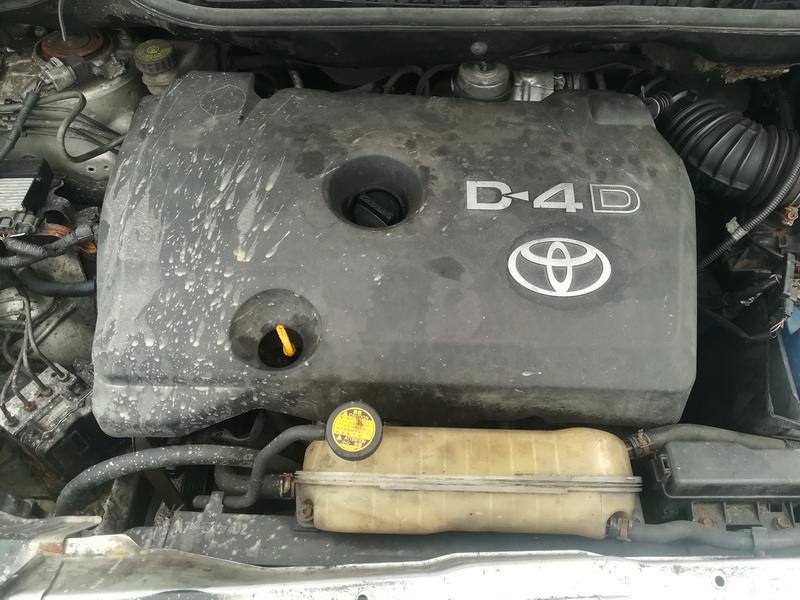Naudotos automobiliu dallys Foto 2 Toyota COROLLA VERSO 2008 2.2 Mechaninė Vienatūris 4/5 d. Sidabrine 2019-7-16 A4630