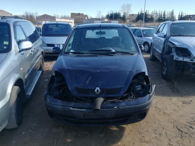 Naudotos automobilio dalys Renault SCENIC 2000 1.6 Mechaninė Vienatūris 4/5 d. Melyna 2019-4-01