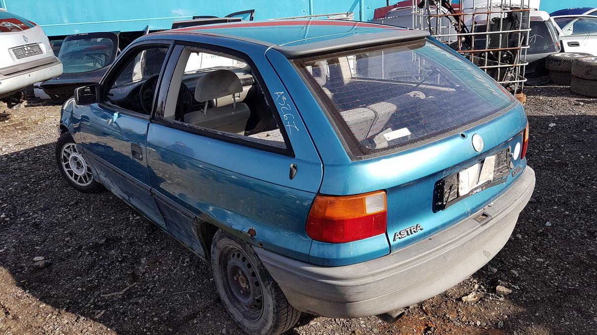 Naudotos automobilio dalys Opel ASTRA 1991 1.4 Mechaninė Hečbekas 2/3 d. Zydra 2017-5-03