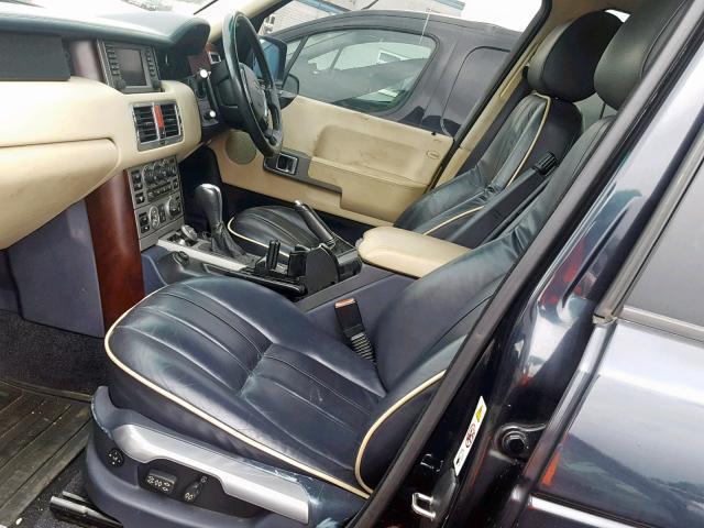 Naudotos automobiliu dallys Foto 2 Land Rover RANGE ROVER 2002 3.0 Automatinė Visureigis 4/5 d. Melyna 2019-5-27 A4521