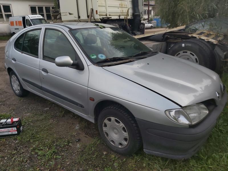 Naudotos automobilio dalys Renault MEGANE 1998 1.6 Automatinė Hečbekas 4/5 d. Pilka 2020-9-02