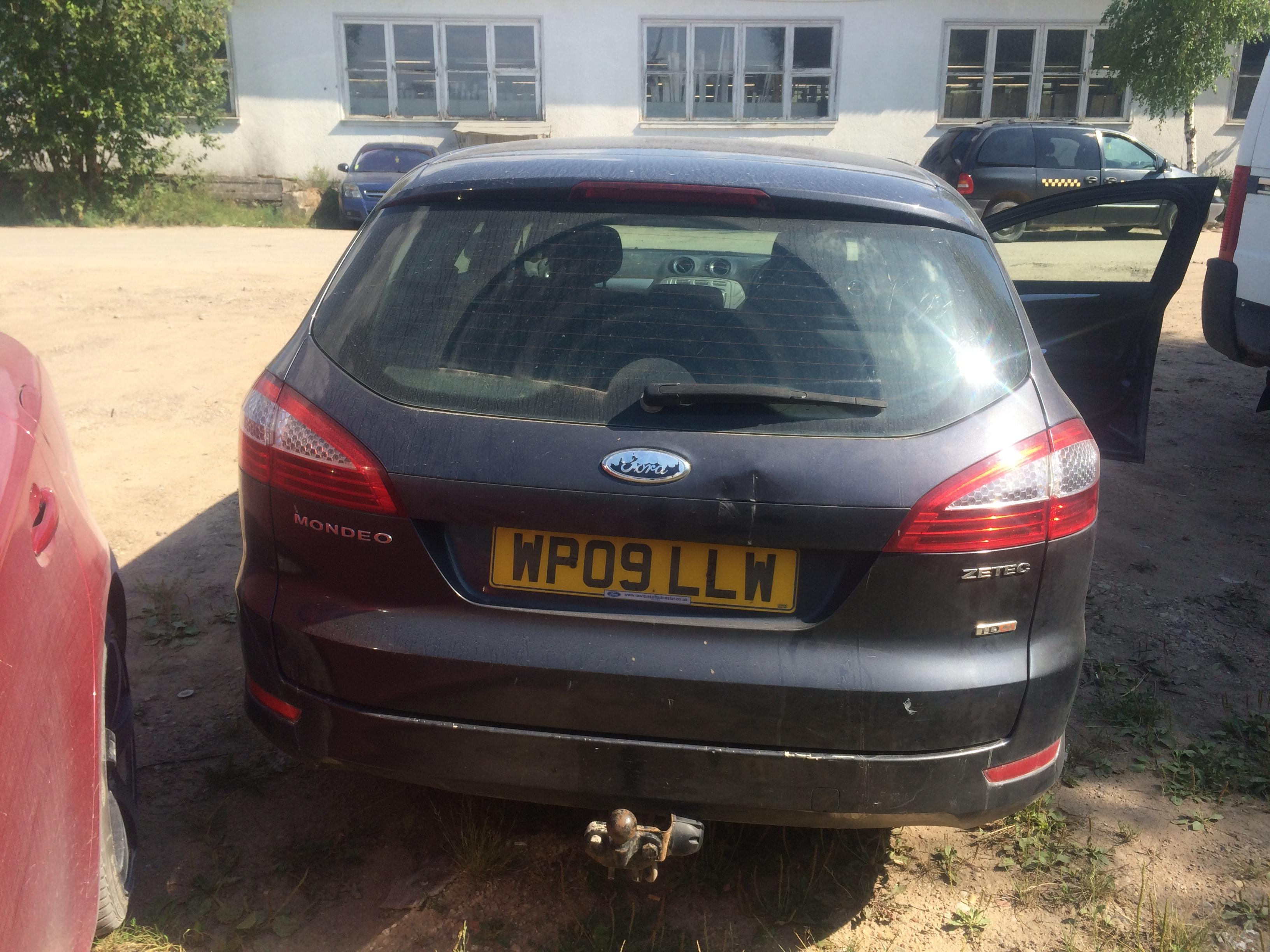 Used Car Parts Foto 8 Ford MONDEO 2009 1.8 Mechanical Universal 4/5 d. Grey 2018-8-02 A3992