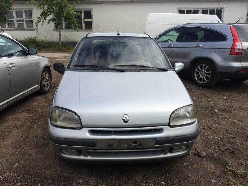 Naudotos automobilio dalys Renault CLIO 1997 1.4 Automatinė Hečbekas 2/3 d. Pilka 2018-6-23
