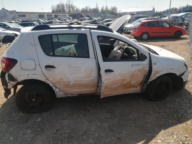Naudotos automobiliu dallys Foto 9 Dacia SANDERO 2014 1.5 Mechaninė Hečbekas 4/5 d. Balta 2019-4-23 A4440