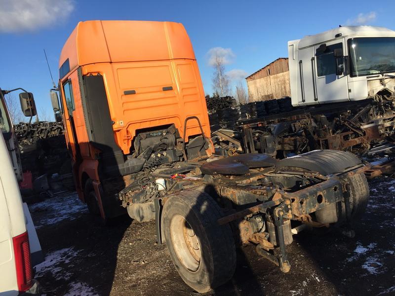 Naudotos automobiliu dallys Foto 7 Truck - MAN TGA 2002 12.0 Mechaninė Vilkikas 2/3 d. Oranzine 2018-11-27 A4212