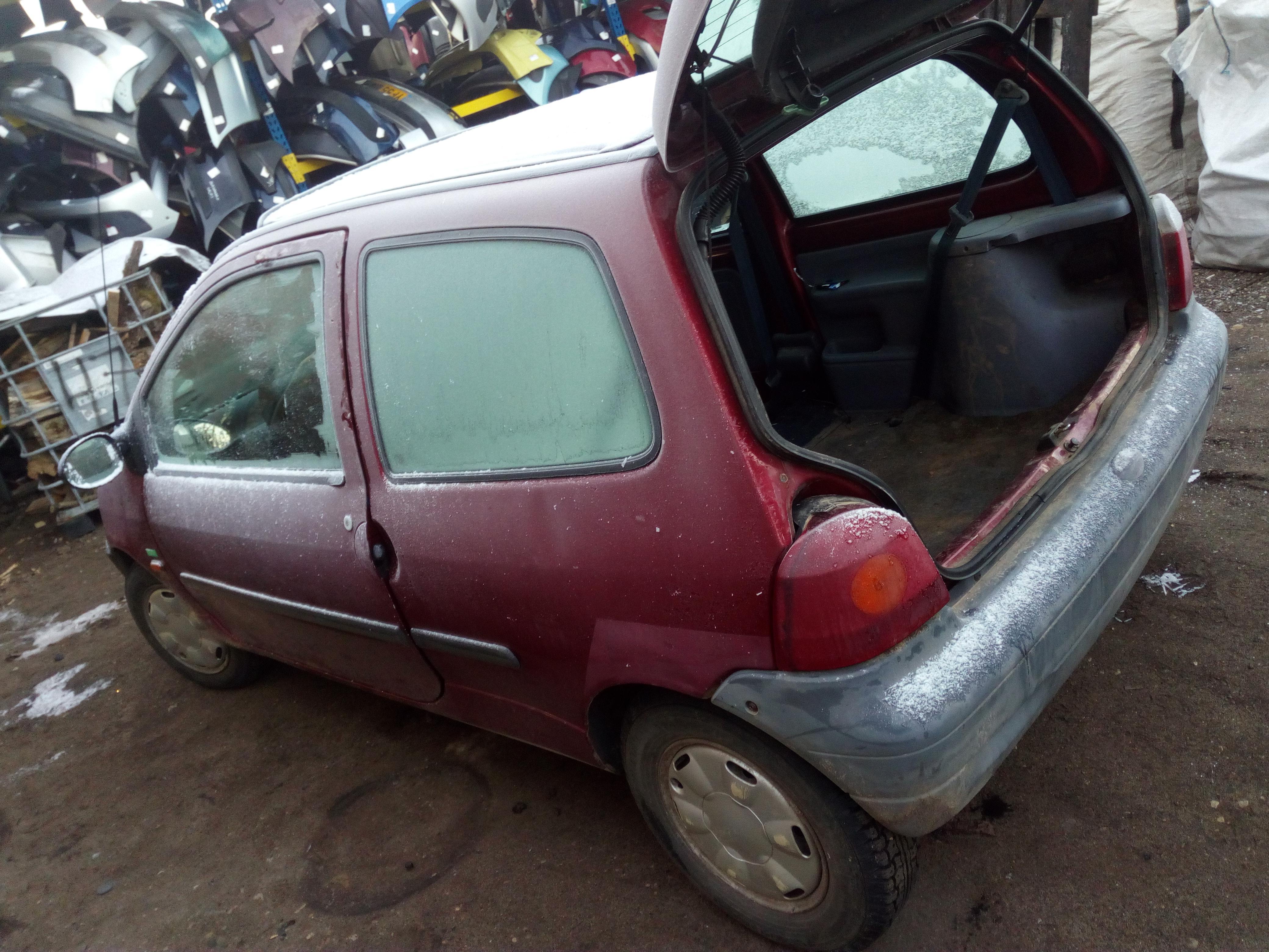 Naudotos automobilio dalys Renault TWINGO 1996 1.2 Mechaninė Hečbekas 2/3 d. Raudona 2018-1-08