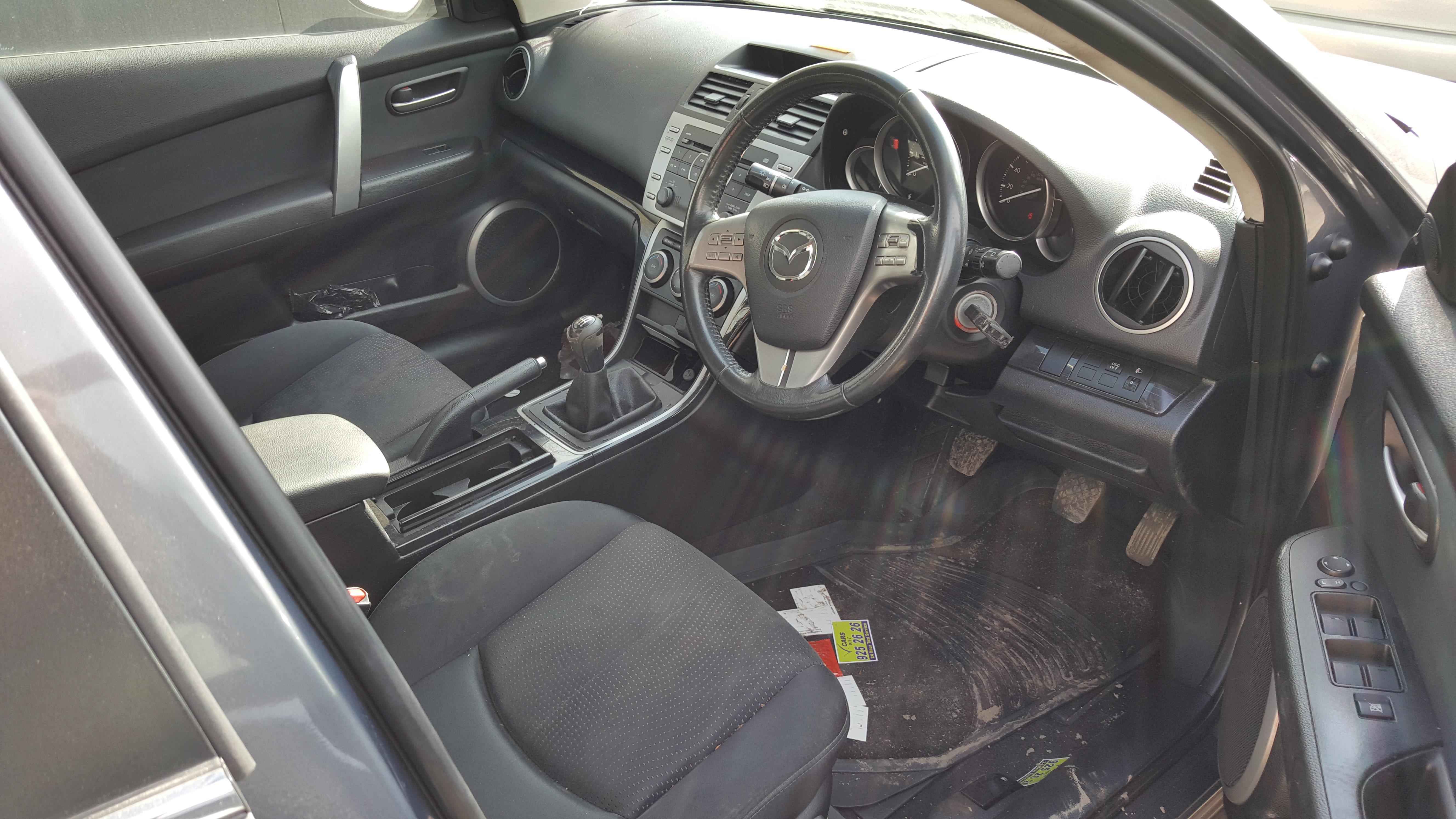 Naudotos automobilio dalys Mazda 6 2009 2.2 Mechaninė Hečbekas 4/5 d. Pilka 2017-5-05