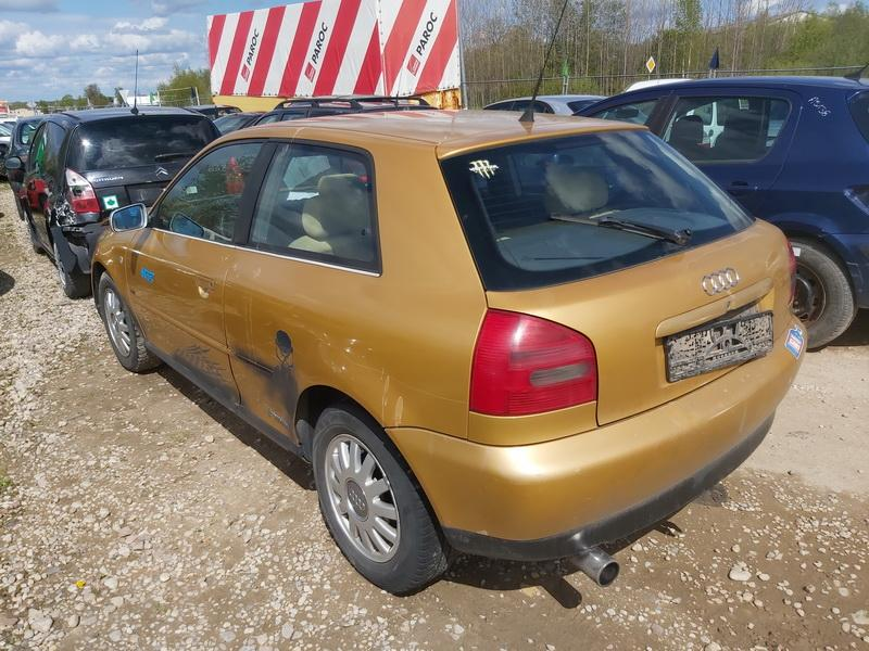 Naudotos automobiliu dallys Foto 7 Audi A3 1996 1.8 Mechaninė Hečbekas 2/3 d. Geltona 2020-5-19 A5287