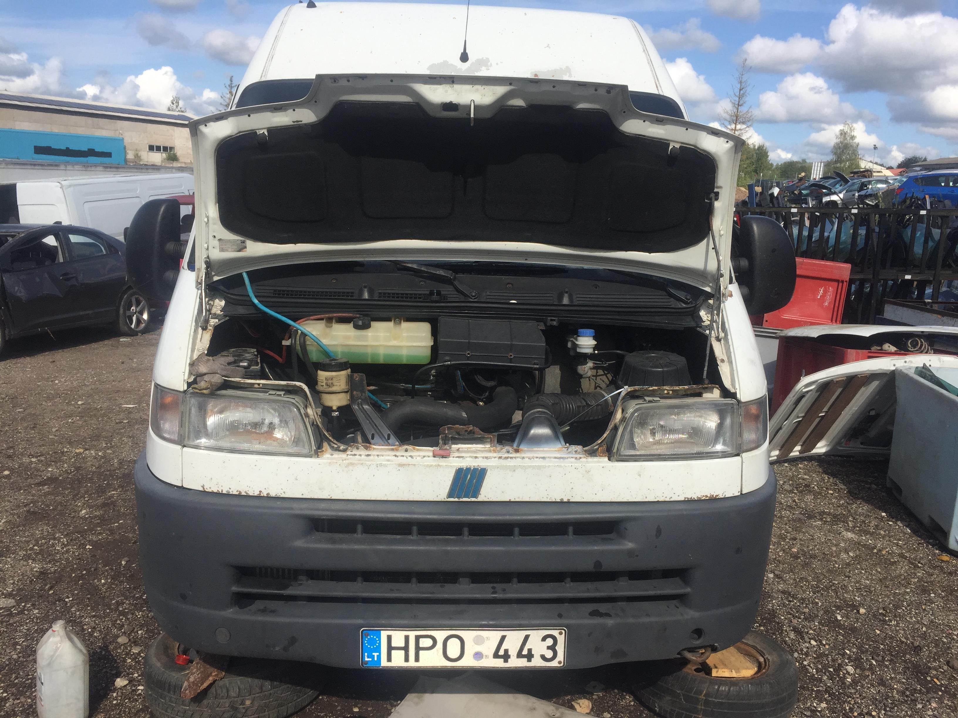 Naudotos automobiliu dallys Foto 7 Fiat DUCATO 2002 2.8 Mechaninė Krovininis mikroautobusas 4/5 d. Balta 2018-8-27 A4053