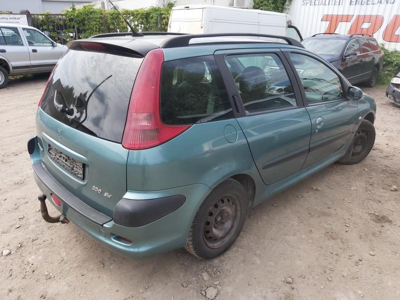 Naudotos automobiliu dallys Foto 8 Peugeot 206 2003 1.4 Mechaninė Universalas 4/5 d. Zalia 2020-7-27 A5464