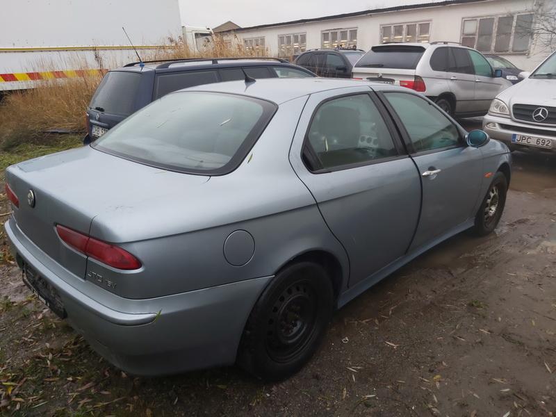 Подержанные Автозапчасти Foto 7 Alfa-Romeo 156 2002 1.9 машиностроение седан 4/5 d. синий 2020-11-18 A5832