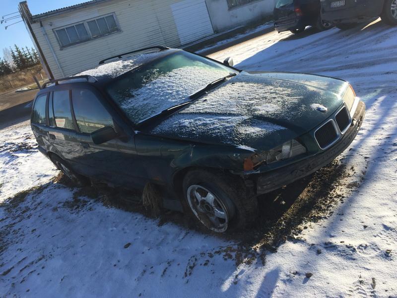 Naudotos automobiliu dallys Foto 2 BMW 3-SERIES 1996 1.8 Mechaninė Universalas 4/5 d. Zalia 2018-11-23 A4208