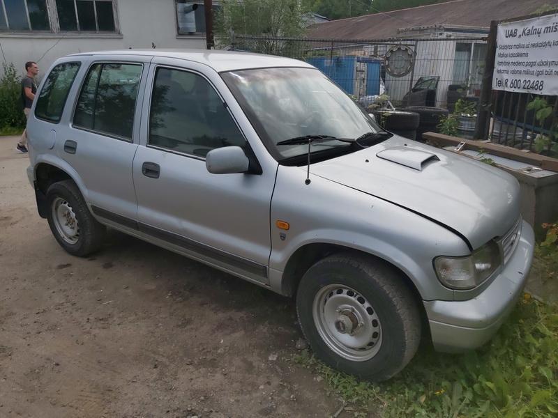 Naudotos automobilio dalys Kia SPORTAGE 1999 2.0 Mechaninė Visureigis 4/5 d. Pilka 2020-7-24