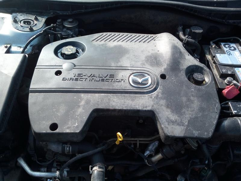 Naudotos automobiliu dallys Foto 3 Mazda 6 2003 2.0 Mechaninė Universalas 4/5 d. Zydra 2018-4-04 A3683