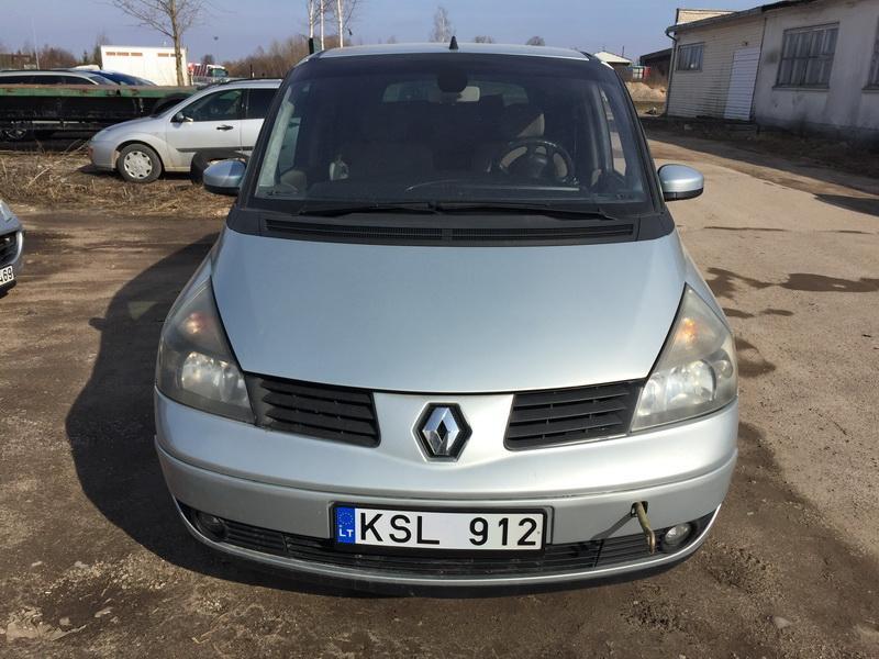 Renault ESPACE 2003 2.2 машиностроение