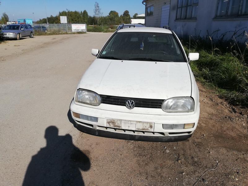 Naudotos automobilio dalys Volkswagen GOLF 1998 1.9 Mechaninė Universalas 4/5 d. Balta 2019-9-26