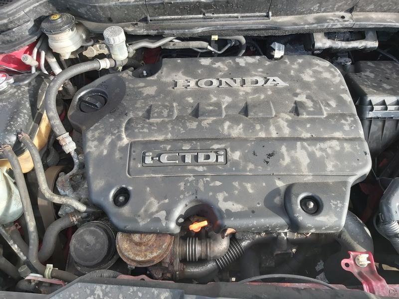 Naudotos automobiliu dallys Foto 2 Honda CR-V 2007 2.2 Mechaninė Visureigis 4/5 d. Raudona 2020-2-13 A5071