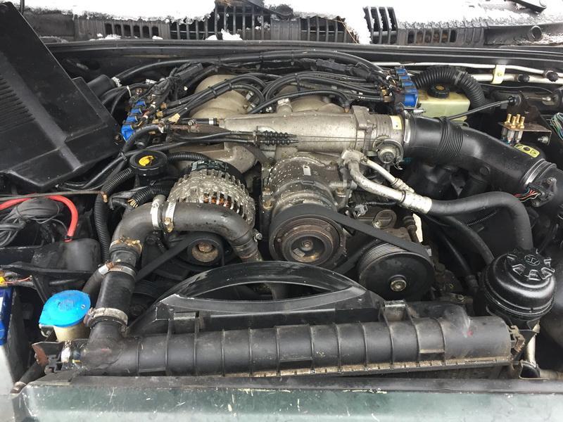 Naudotos automobiliu dallys Foto 2 Land Rover RANGE ROVER 1999 4.6 Automatinė Visureigis 4/5 d. Zalia 2019-2-04 A4291