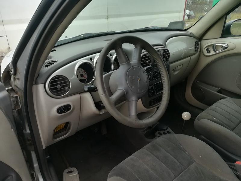 Naudotos automobilio dalys Chrysler PT CRUISER 2002 1.6 Mechaninė Hečbekas 4/5 d. Pilka 2019-11-06