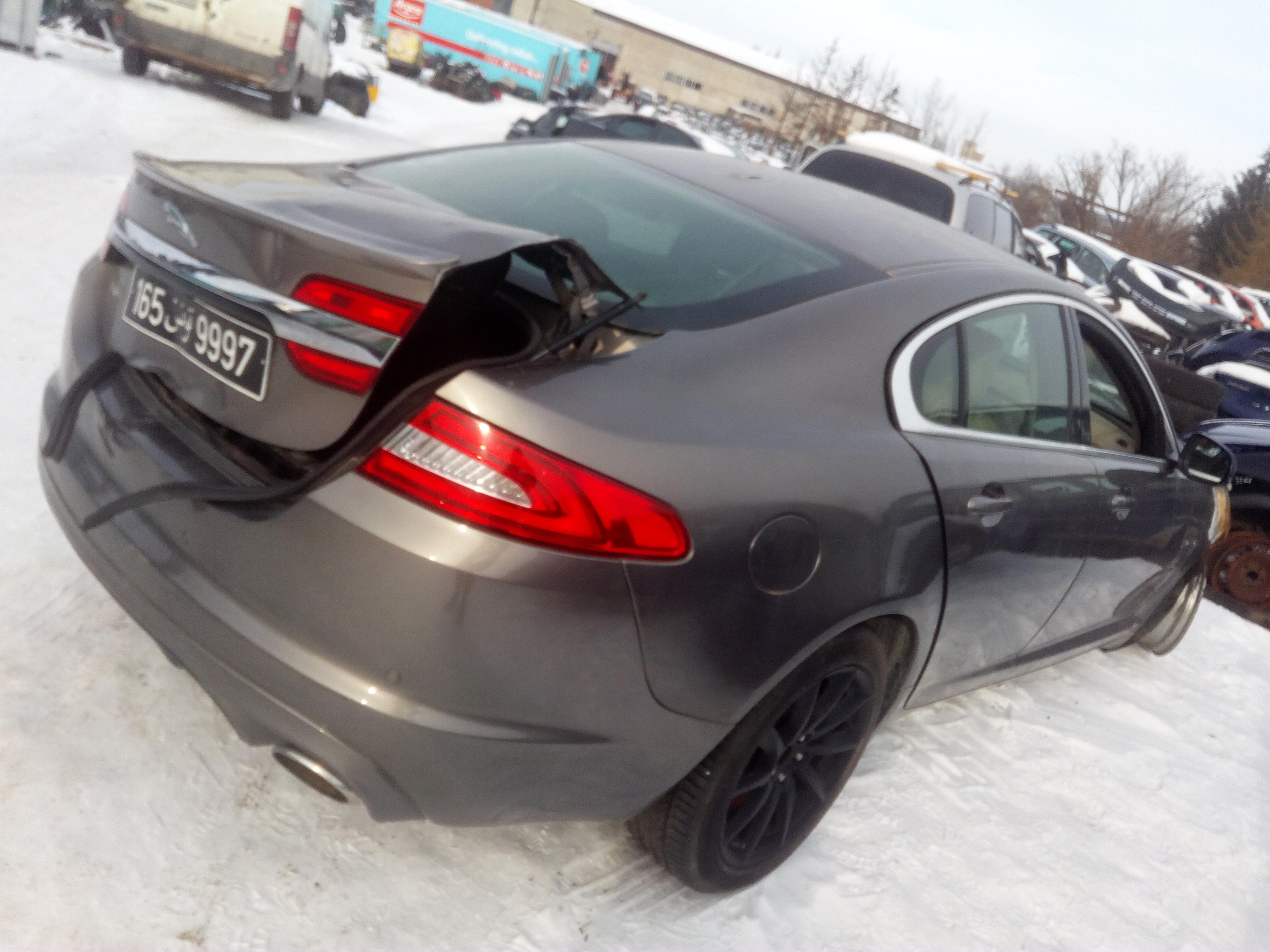 Naudotos automobilio dalys Jaguar XF 2012 2.0 Automatinė Sedanas 4/5 d. Pilka 2018-2-28