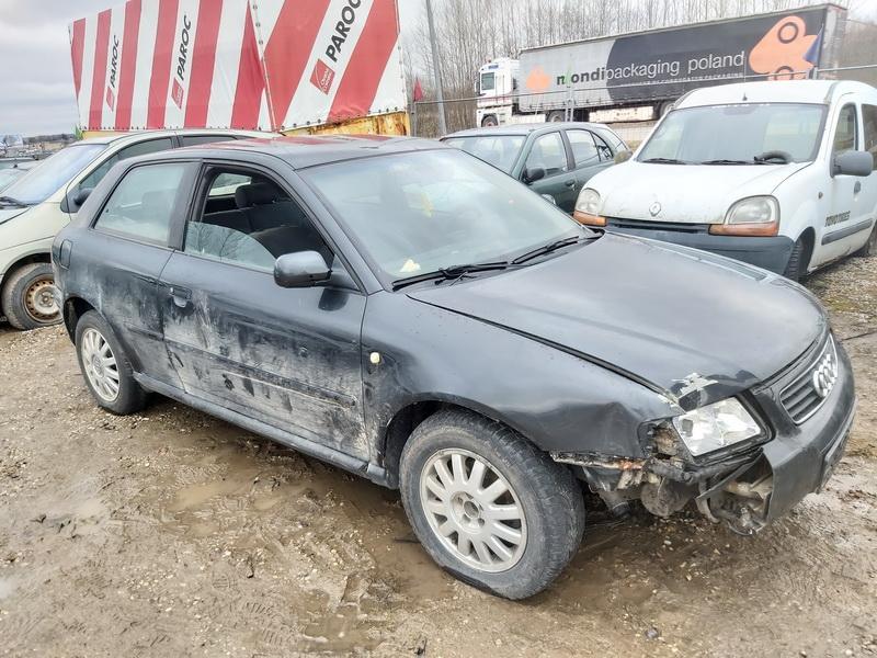 Naudotos automobilio dalys Audi A3 1997 1.9 Mechaninė Hečbekas 2/3 d. Juoda 2020-2-27