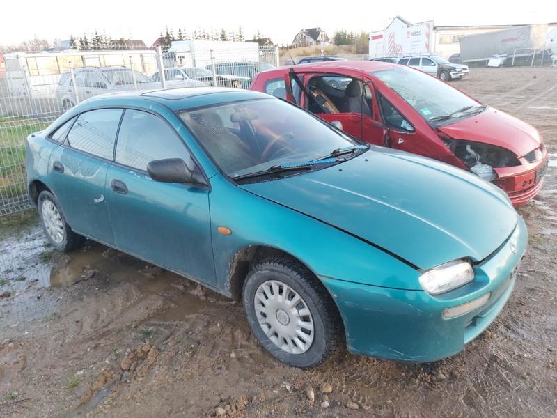 Naudotos automobilio dalys Mazda 323F 1995 1.5 Mechaninė Hečbekas 4/5 d. Zalia 2020-11-09
