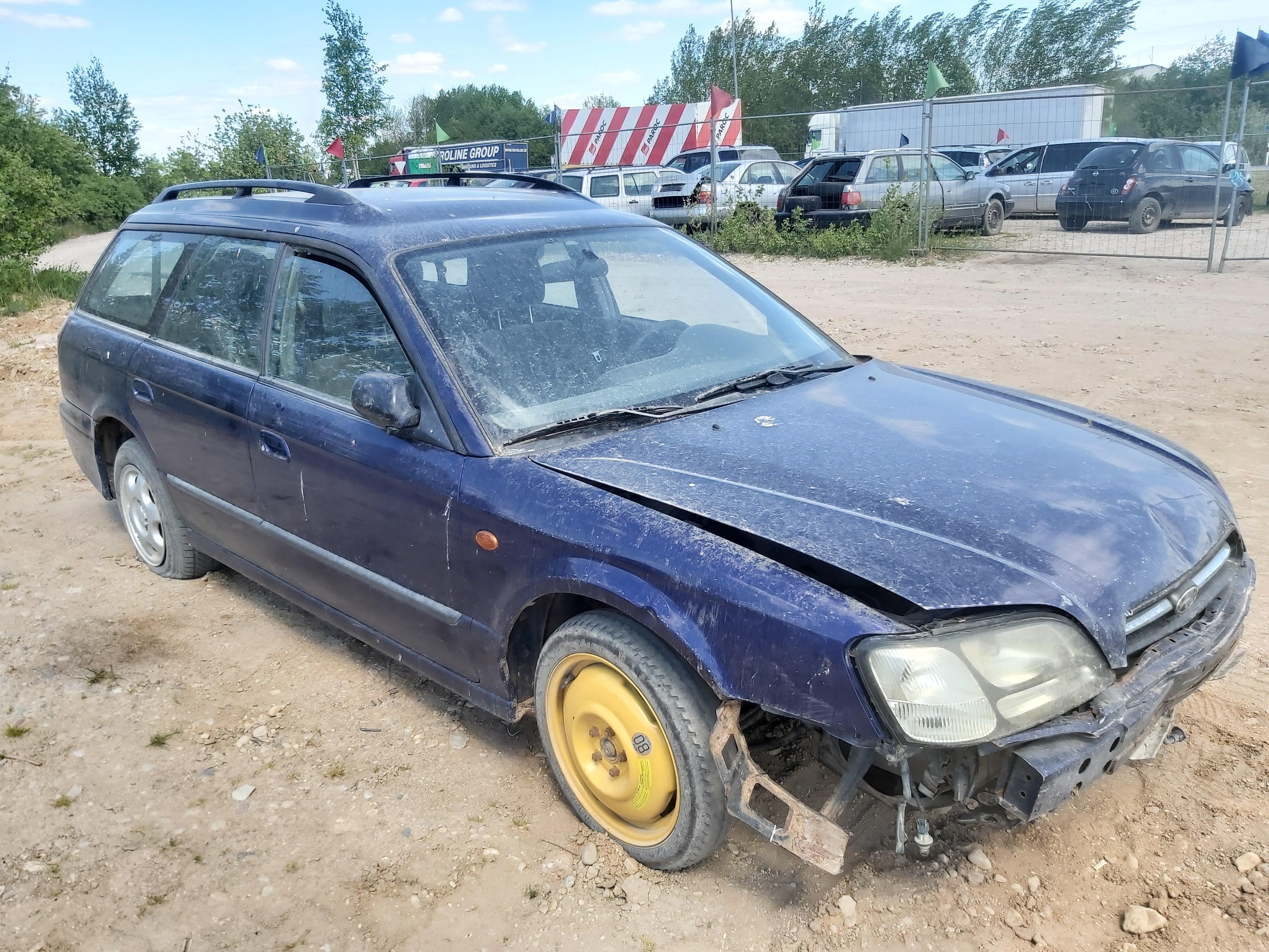 Naudotos automobilio dalys Subaru LEGACY 1999 2.0 Mechaninė Universalas 4/5 d. Melyna 2020-6-02