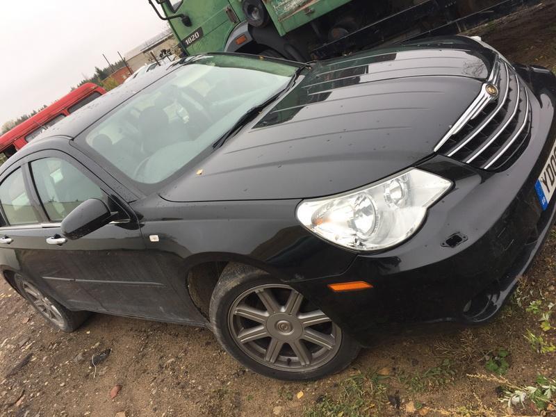 Naudotos automobiliu dallys Foto 2 Chrysler SEBRING 2009 2.0 Mechaninė Sedanas 4/5 d. Juoda 2018-10-30 A4156