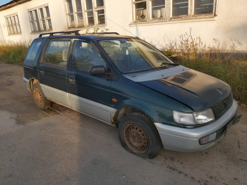Naudotos automobilio dalys Mitsubishi SPACE WAGON 1996 2.0 Mechaninė Vienatūris 4/5 d. Zalia 2020-10-07