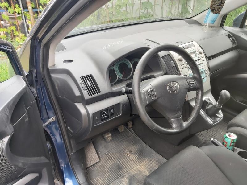 Naudotos automobilio dalys Toyota COROLLA VERSO 2005 2.0 Mechaninė Vienatūris 4/5 d. Melyna 2020-7-01