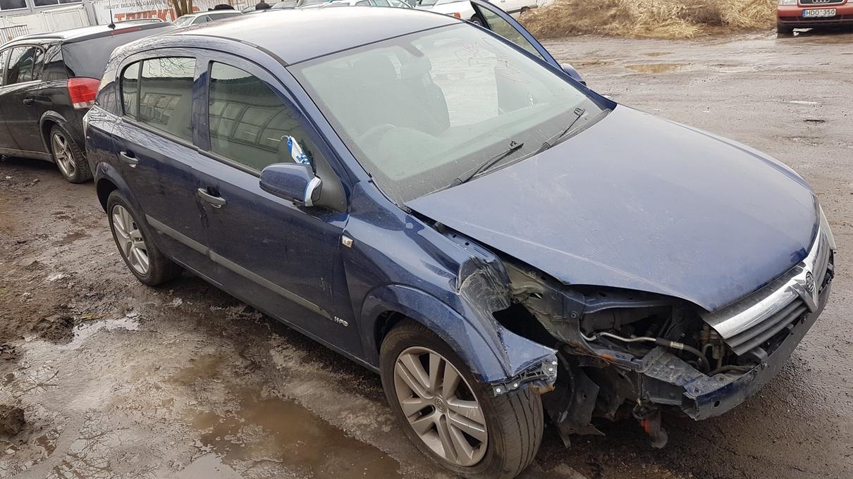 Naudotos automobiliu dallys Foto 3 Opel ASTRA 2004 1.8 Automatinė Hečbekas 4/5 d. Melyna 2017-2-28 A3210