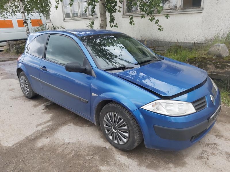 Naudotos automobilio dalys Renault MEGANE 2003 1.5 Mechaninė Hečbekas 2/3 d. Melyna 2020-8-27