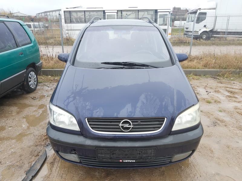 Подержанные Автозапчасти Foto 3 Opel ZAFIRA 2000 2.0 машиностроение минивэн 4/5 d. синий 2020-11-18 A5831