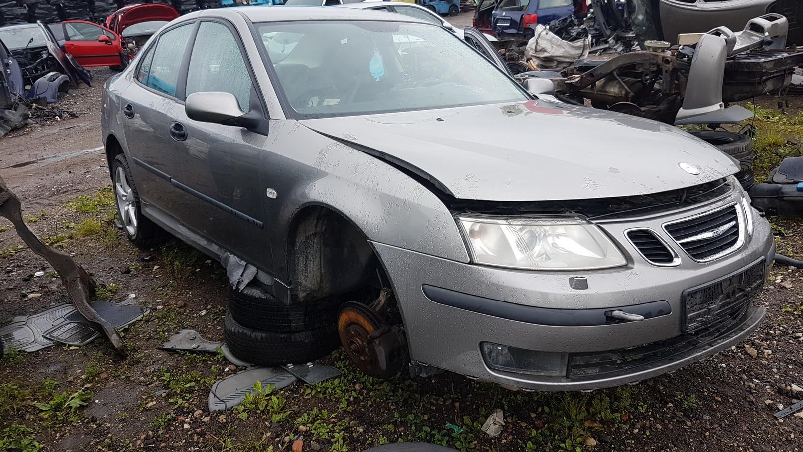 Naudotos automobilio dalys SAAB 9-3 2002 2.2 Mechaninė Sedanas 4/5 d. Pilka 2018-6-30