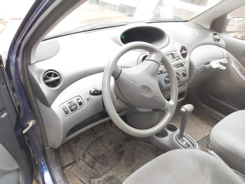 Naudotos automobilio dalys Toyota YARIS 2001 1.3 Automatinė Hečbekas 4/5 d. Melyna 2020-5-21