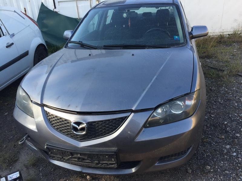 Naudotos automobilio dalys Mazda 3 2004 1.6 Mechaninė Sedanas 4/5 d. Pilka 2018-10-16