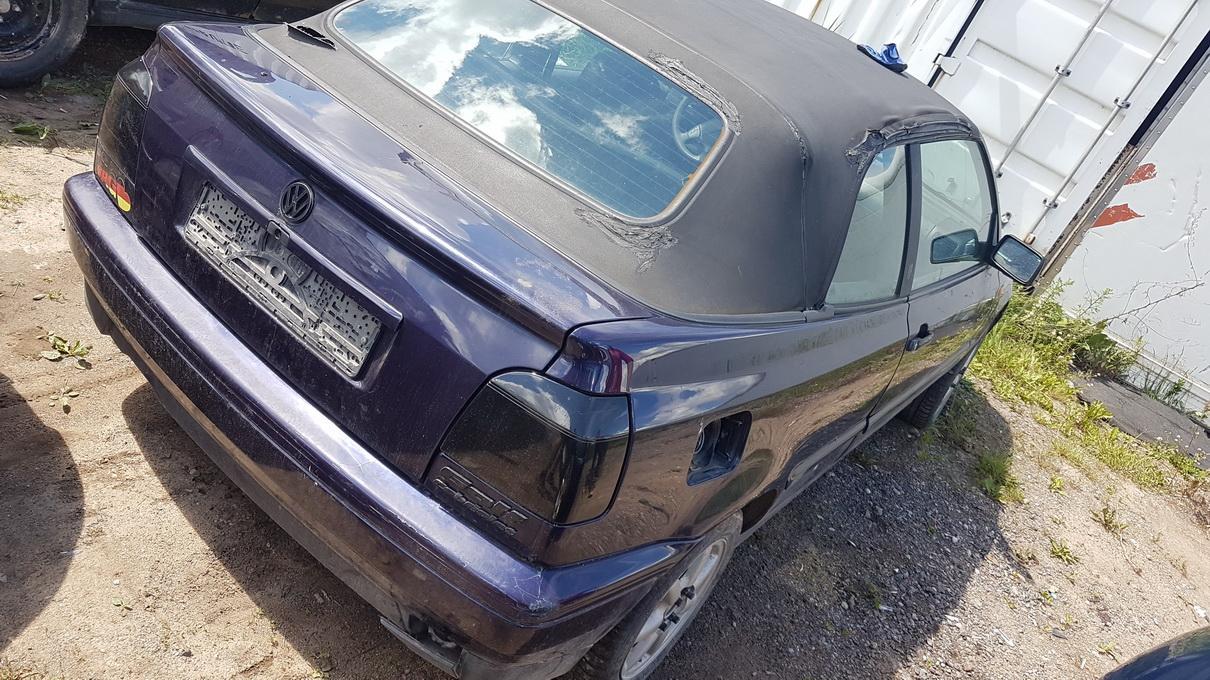 Naudotos automobiliu dallys Foto 7 Volkswagen GOLF 1995 1.8 Mechaninė Kabrioletas 2/3 d. Violetine 2017-6-23 A3338