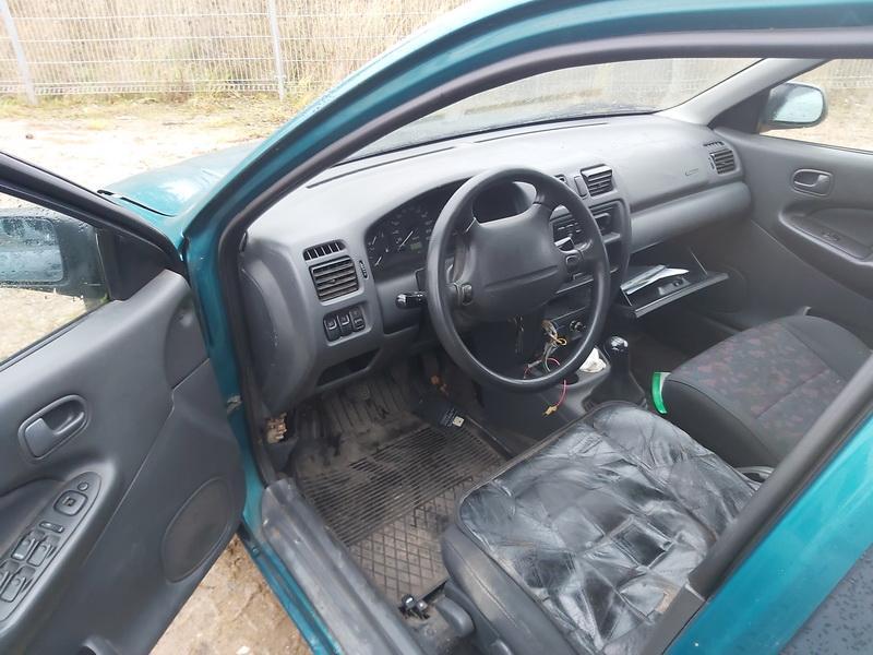 Naudotos automobilio dalys Mazda 323 1997 1.5 Mechaninė Sedanas 4/5 d. Zalia 2020-11-13