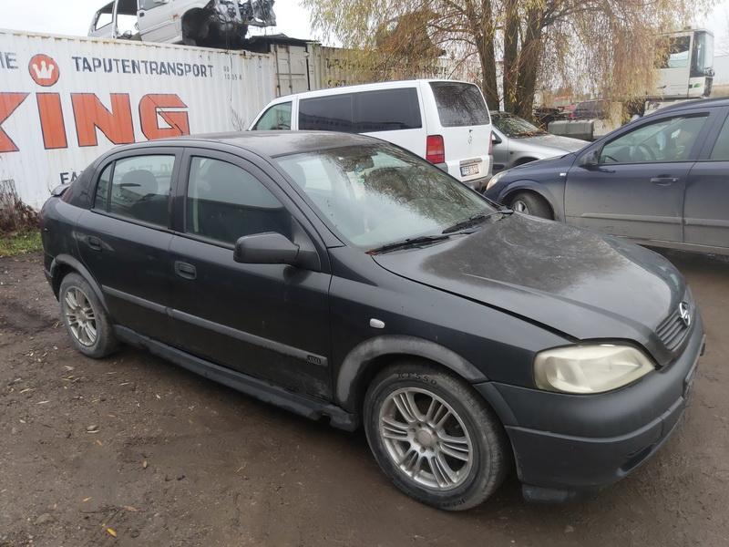 Naudotos automobilio dalys Opel ASTRA 2001 1.7 Mechaninė Hečbekas 4/5 d. Juoda 2020-11-03