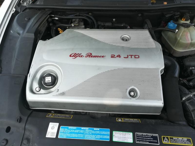 Naudotos automobiliu dallys Foto 2 Alfa-Romeo 166 2002 2.4 Mechaninė Sedanas 4/5 d. Pilka 2019-9-11 A4751