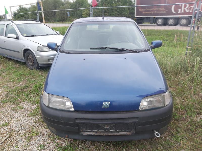 Used Car Parts Foto 3 Fiat PUNTO 1999 1.2 Mechanical Hatchback 2/3 d. Blue 2020-9-14 A5661