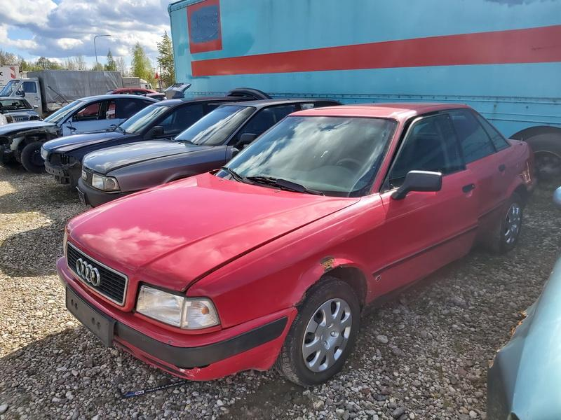 Naudotos automobiliu dallys Foto 4 Audi 80 1992 2.0 Mechaninė Sedanas 4/5 d. Raudona 2020-5-20 A5292