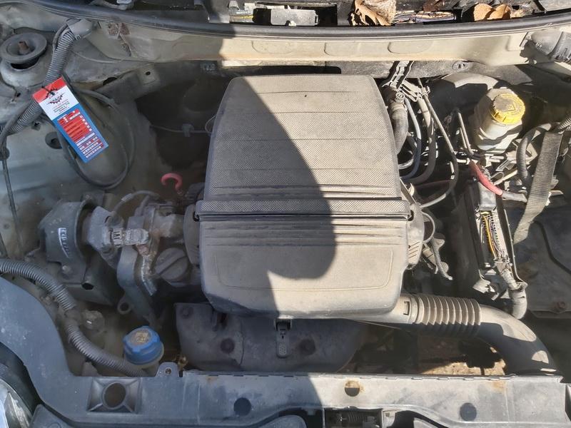 Naudotos automobiliu dallys Foto 2 Fiat PANDA 2008 1.1 Mechaninė Hečbekas 4/5 d. Balta 2020-3-17 A5130