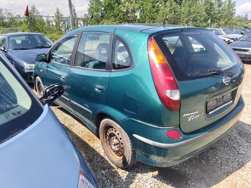 Naudotos automobilio dalys Nissan ALMERA TINO 2001 2.2 Mechaninė Vienatūris 4/5 d. Zalia 2020-6-06