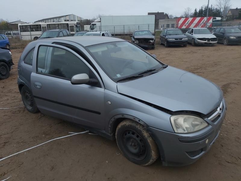 Naudotos automobilio dalys Opel CORSA 2004 1.3 Mechaninė Hečbekas 2/3 d. Pilka 2020-11-13
