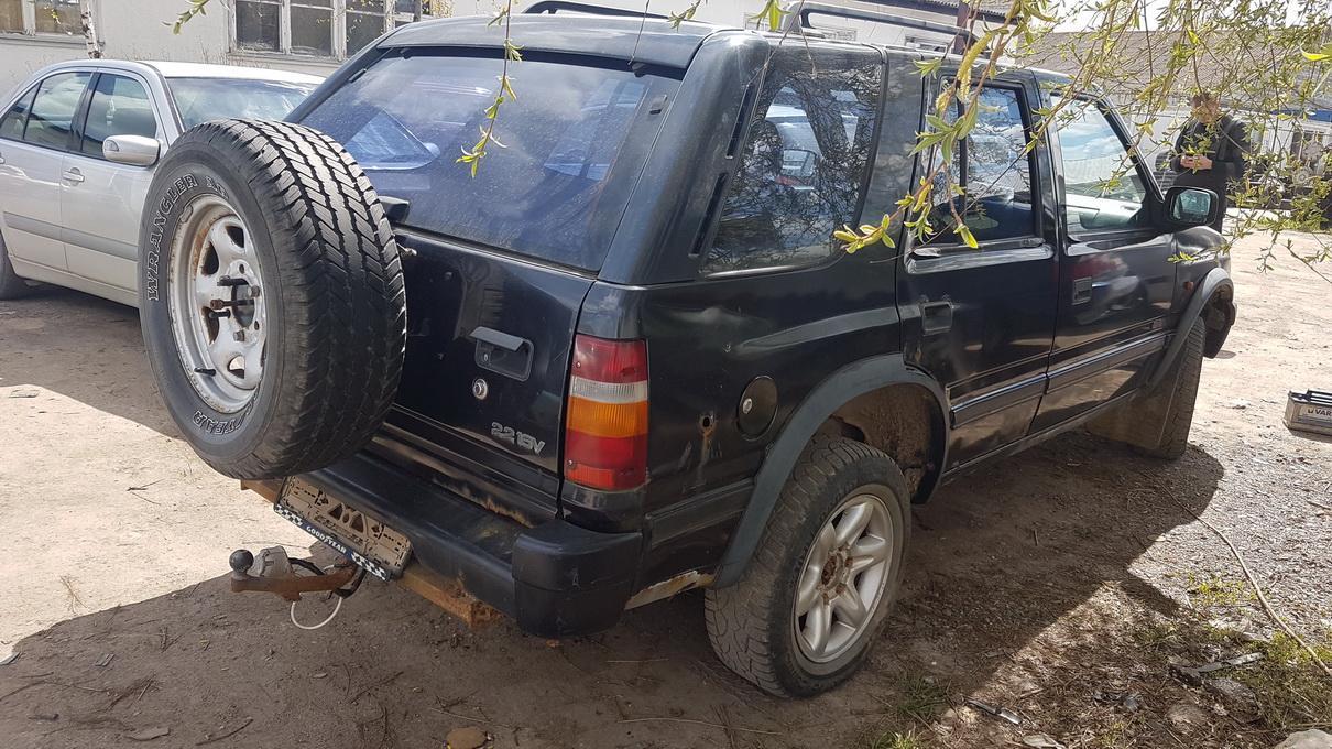 Naudotos automobiliu dallys Foto 5 Opel FRONTERA 1997 2.2 Mechaninė Visureigis 4/5 d. Melyna 2017-5-09 A3278