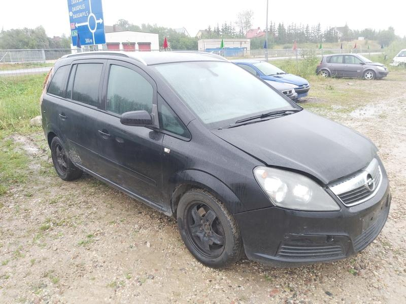 Naudotos automobilio dalys Opel ZAFIRA 2006 1.9 Automatinė Vienatūris 4/5 d. Juoda 2020-8-31